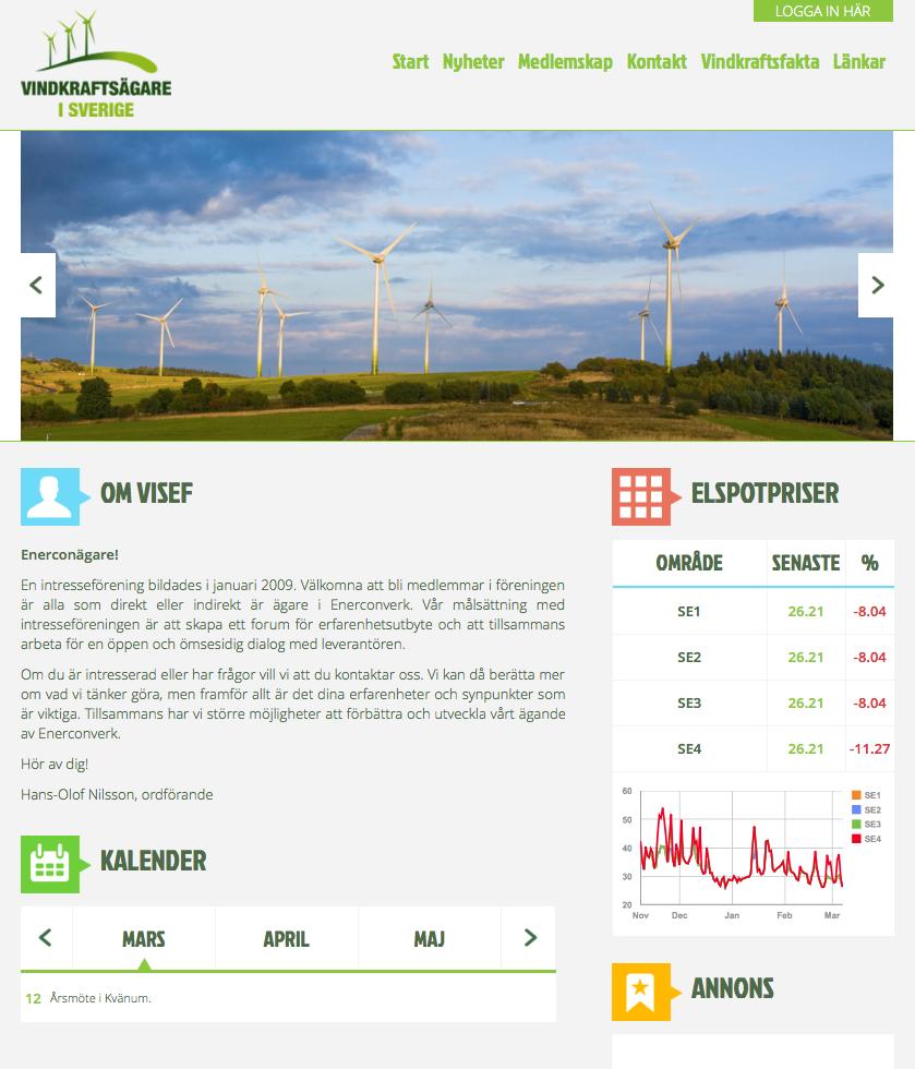 Referensprojekt VISEF index